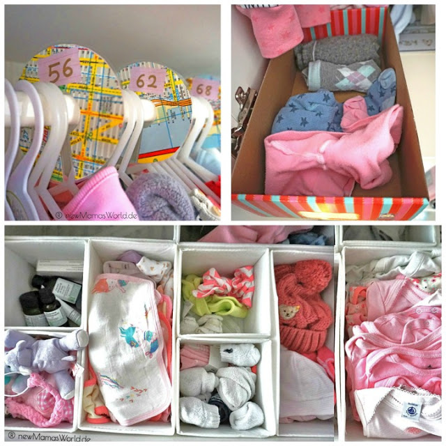 6 Tips für ein organisiertes & chaosFREIES Babyzimmer