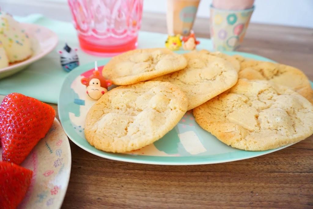 Lieblingsrezepte: Macadamia Cookies mit weißer Schokolade