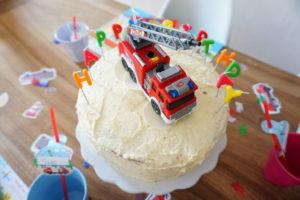 Feuerwehr Geburtstagsparty I der 4. Geburtstag