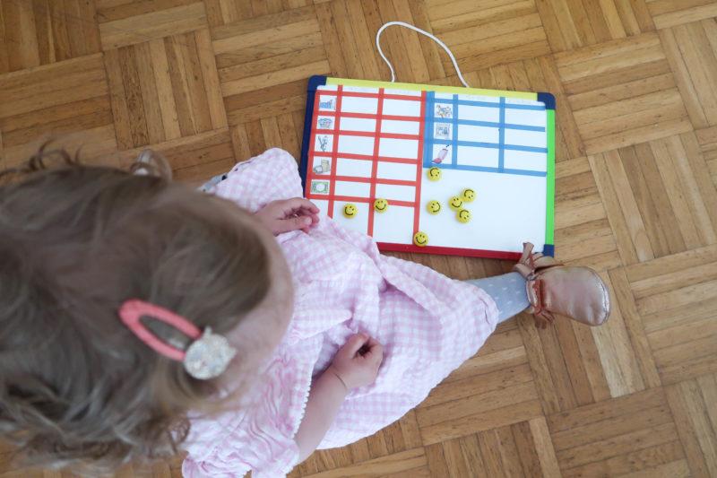 Aufgaben- Board DIY // To Do Liste für Kinder