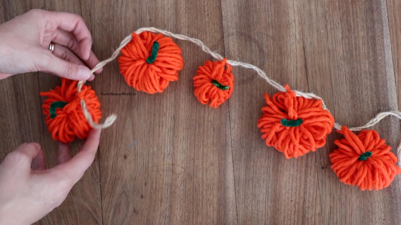 Halloween Bastelideen DIY Basteln mit Kindern