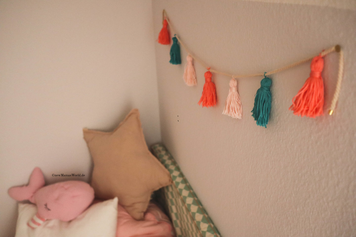 Tassel Girlande DIY