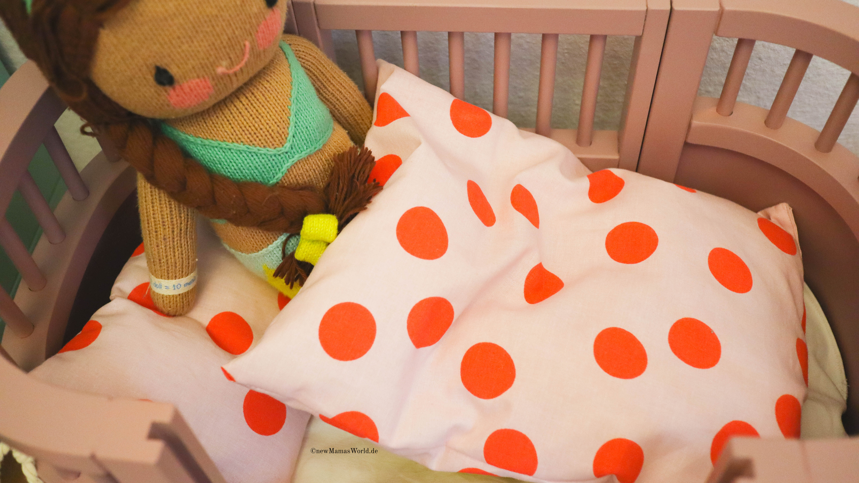 Puppenbettwäsche Accessoires Nähen I Diy New Mamas World