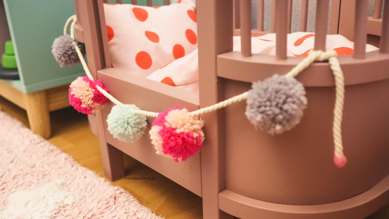 Puppenbettwäsche DIY